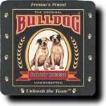 Bulldog Root Beer Coaster